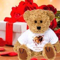 Teddybär bedrucken mit Foto und Text