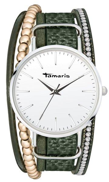 Tamaris ANNA Armbanduhr silber oliv