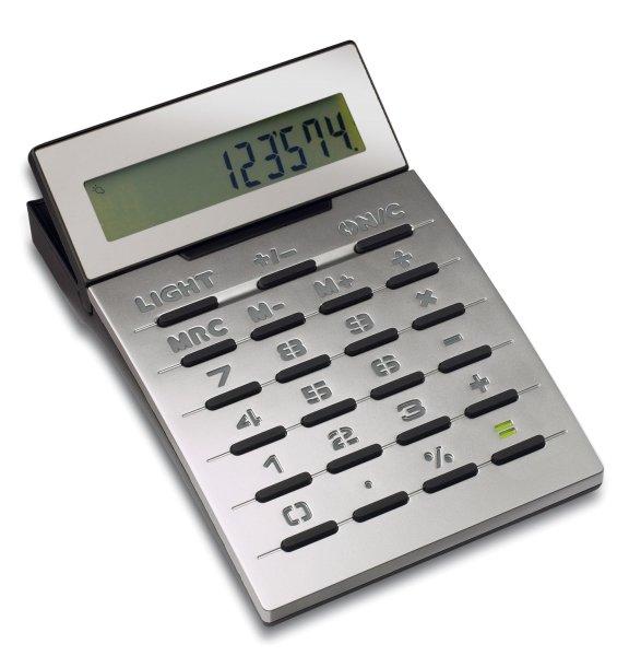 Taschenrechner mit leuchtenden Tasten LAMBARÉ