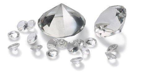 Dekosteineset CORNELLA Diamant Hochzeitsdeko