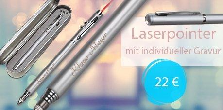 Laserpointer mit Namensgravur