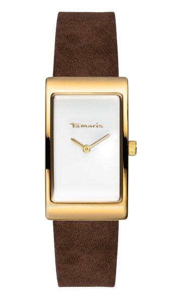 Tamaris Aila Damenuhr Armbanduhr braun gold