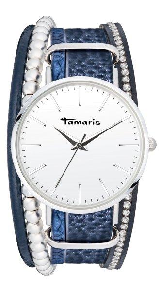 Tamaris ANNA Armbanduhr silber blau