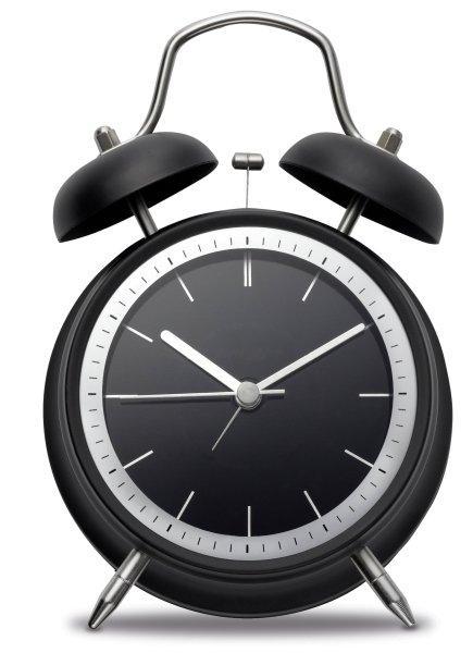 Wecker mit lautlosem Uhrwerk JIXI