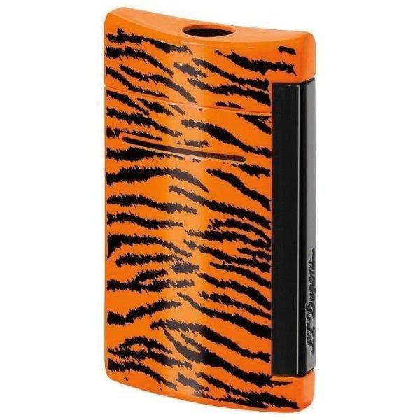 S.T. Dupont Feuerzeug Minijet lackiert ANIMALS tiger