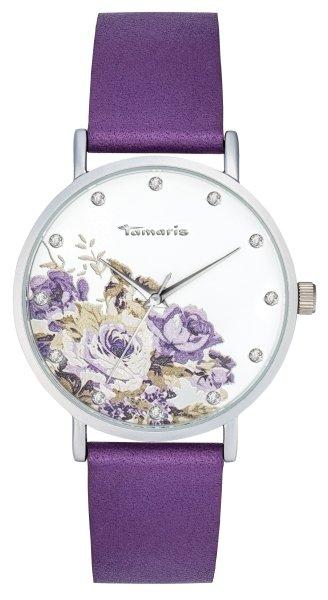 Tamaris Alva Damenuhr Armbanduhr flower 2
