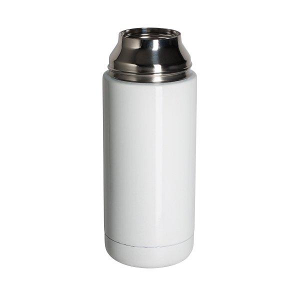 Isolierflasche mit Trinkbecher Edelstahl Vakuumflasche 350ml
