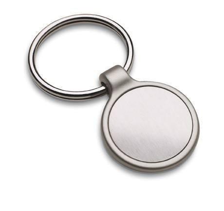 Schlüsselanhänger mit Gravur IRUN ROUND