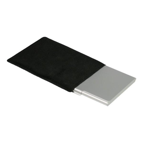 Visitenkartenetui Kreditkartenetui Visitenkartenbox Aluminium