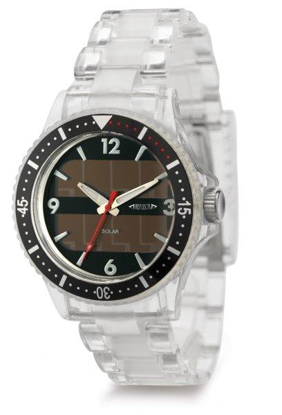 Solar Armbanduhr transparent