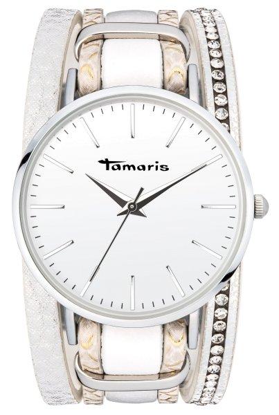 Tamaris ANNA Armbanduhr silber weiß