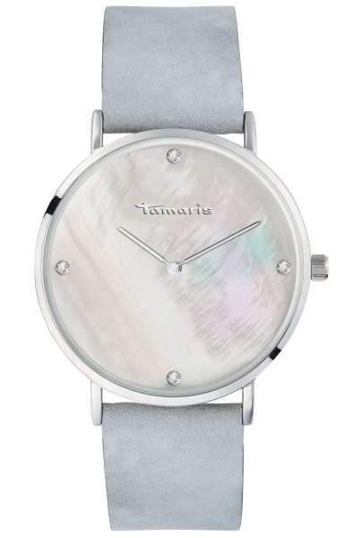 Tamaris Anika Damenuhr Armbanduhr blau