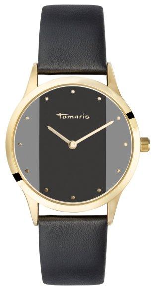 Tamaris Anita Damenuhr Armbanduhr schwarz gold