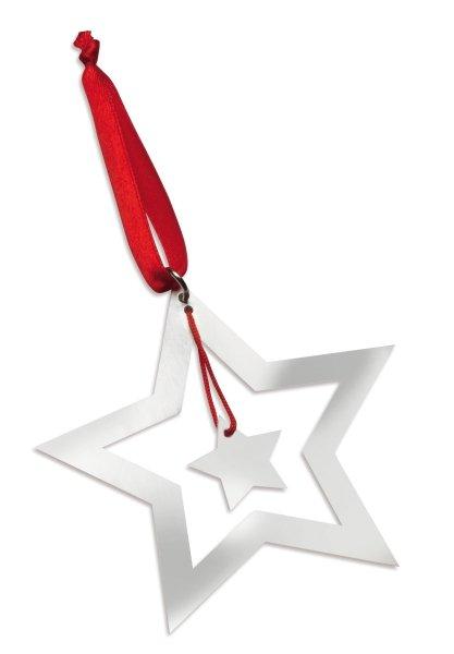 Weihnachtsbaumschmuck Stern NIVELLES