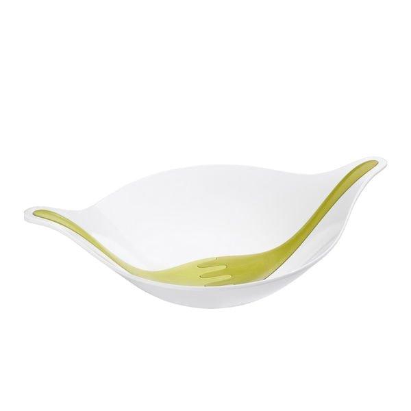 Salatschale mit Besteck 3l LEAF L+