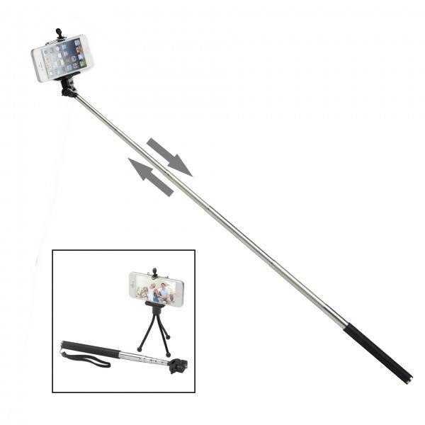 Teleskophalter für Smartphone und Kamera