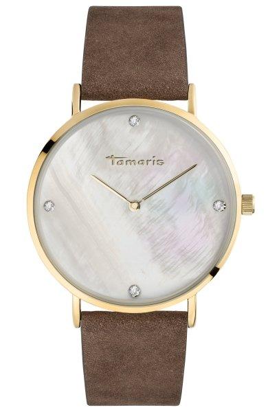 Tamaris Anika Damenuhr Armbanduhr braun gold