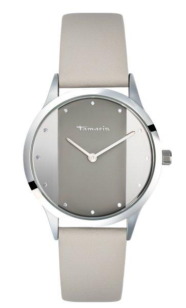 Tamaris Anita Damenuhr Armbanduhr weiß silber
