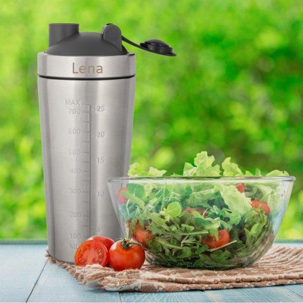 Protein Shaker Cocktail Shaker aus Edelstahl mit Gravur