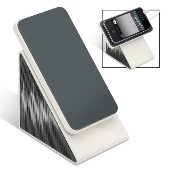 Stereolautsprecher mit Smartphonehalter LES ULIS