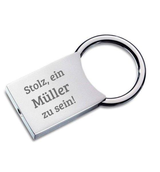 Schlüsselanhänger Müller, Modell CLASSIC LARGE