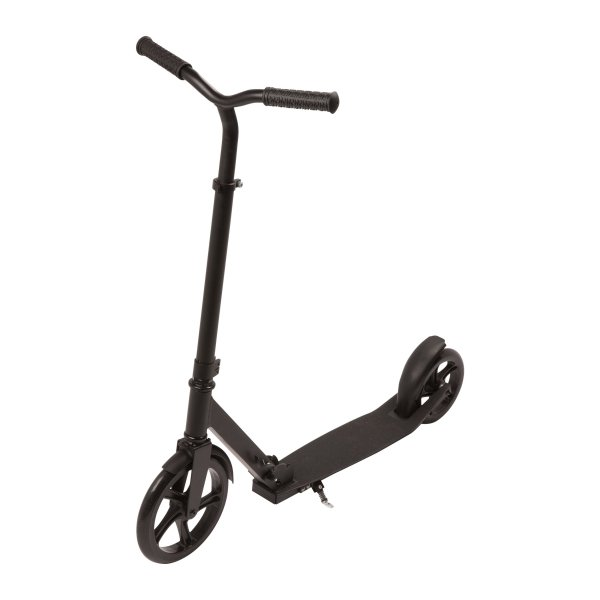 Fun Scooter City Scooter Tretroller Kickroller in schwarz