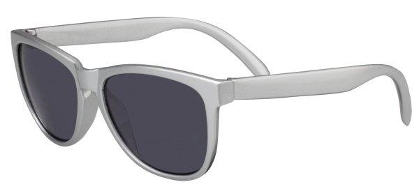 Sonnenbrille Atlanta mit Kunststoffrahmen, schwarze Gläser