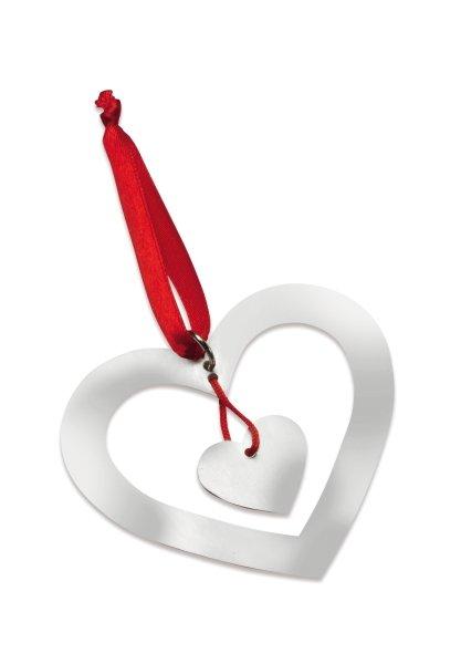 Weihnachtsbaumschmuck Herz ROANNE