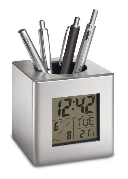 Stifthalter mit Uhr SESIMBRA