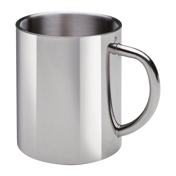 Trinkbecher Edelstahl doppelwandig Tasse 300ml