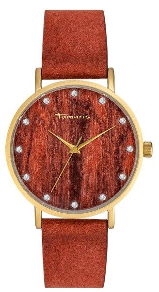 Tamaris Alva Damenuhr Armbanduhr holz braun