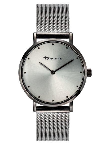 Tamaris ANDA Damenuhr Armbanduhr grau silber