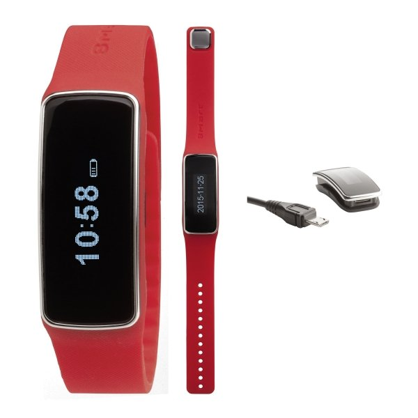 Smartwatch mit Activity Tracker inklusive aufladbarer Batterie