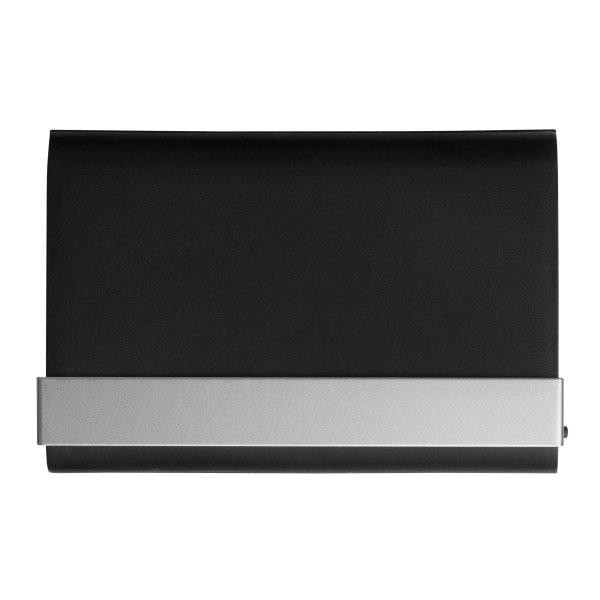 Visitenkartenbox Visitenkartenetui Visitenkartenhalter Kunststoff und Aluminium